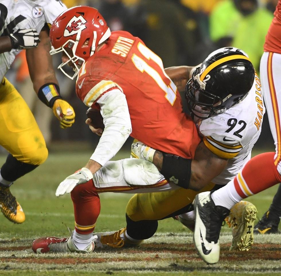 AFC playoffs (divisonal round): Steelers 18, Chiefs 16