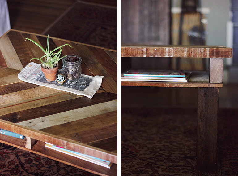 Diy Projects Shipping Pallet Coffee Table The Snug