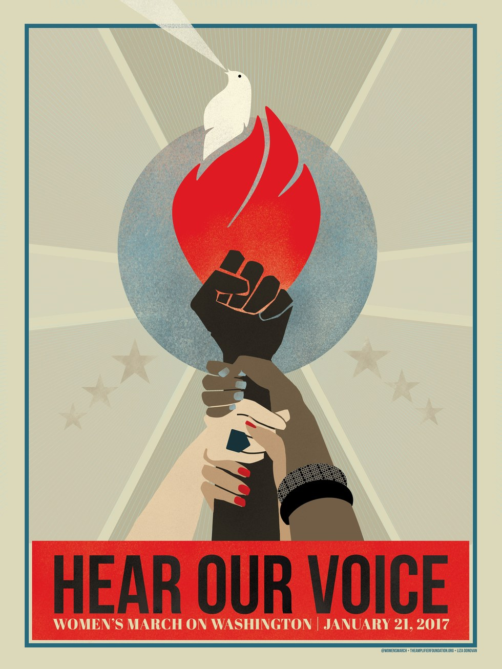 "Women's March on Washington - Liza Donovan, ""Hear Our Voice"""