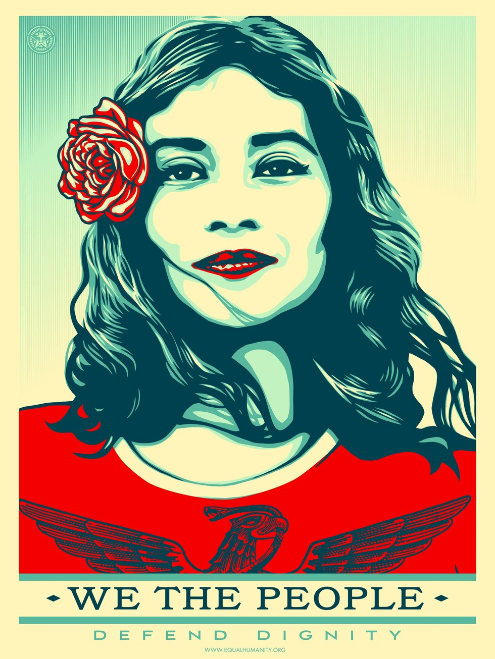 "We The People - Shepard Fairey, ""Defend Dignity"""