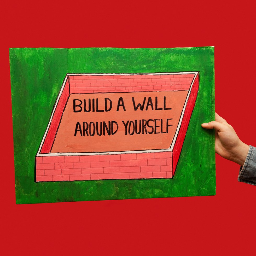 "Olivia Locher, ""Build a Wall Around Yourself"""