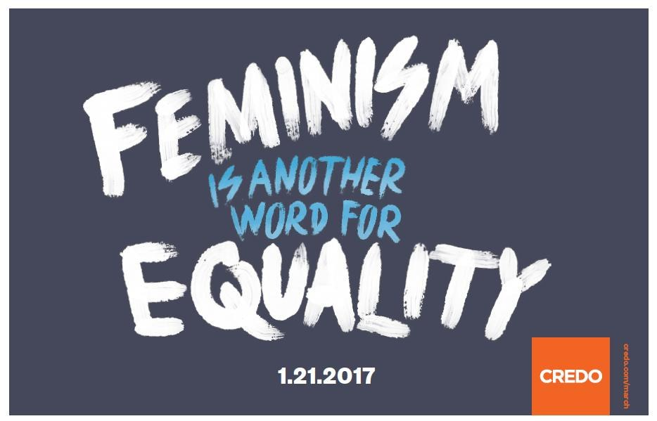 "Credo Mobile, ""Feminism Is Another Word for Equality"""