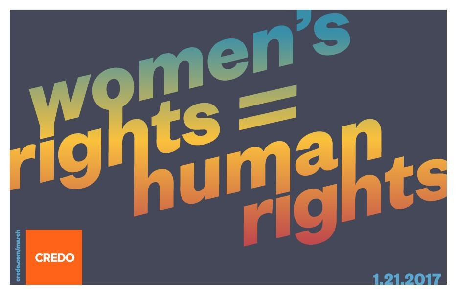 "Credo Mobile, ""Women's Rights Are Human Rights"""