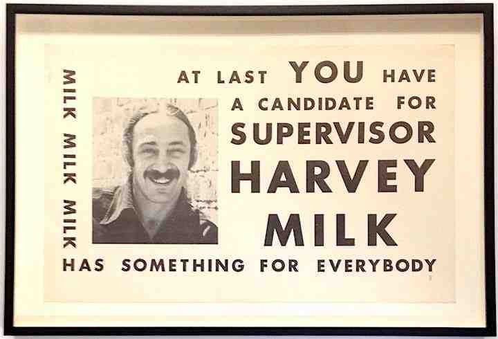 Harvey Milk's First Campaign Poster