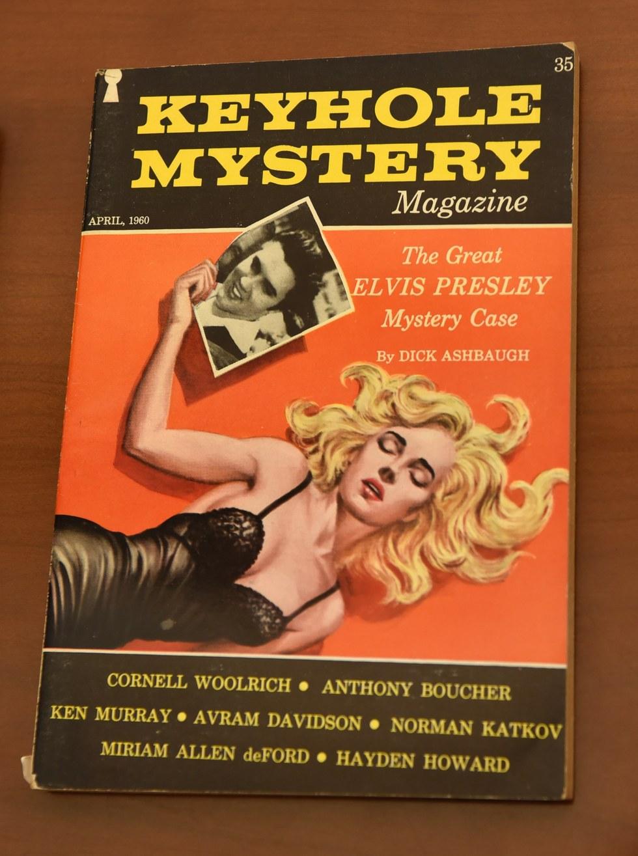 Keyhole Mystery Magazine, 1960