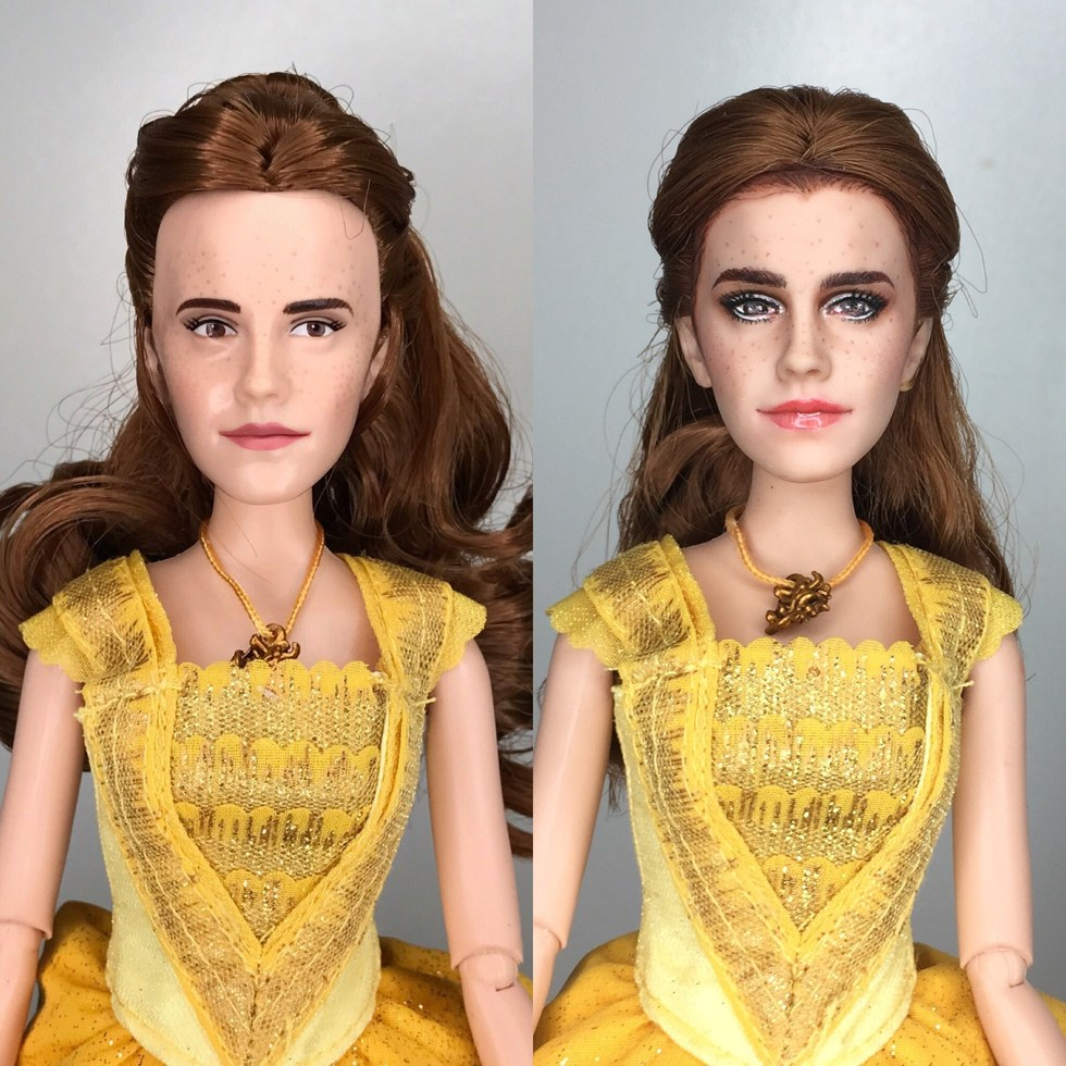 Watch Jonathans Stunning Reveal Video Below To See A Doll Worthy Of The Gorgeous Emma Watson