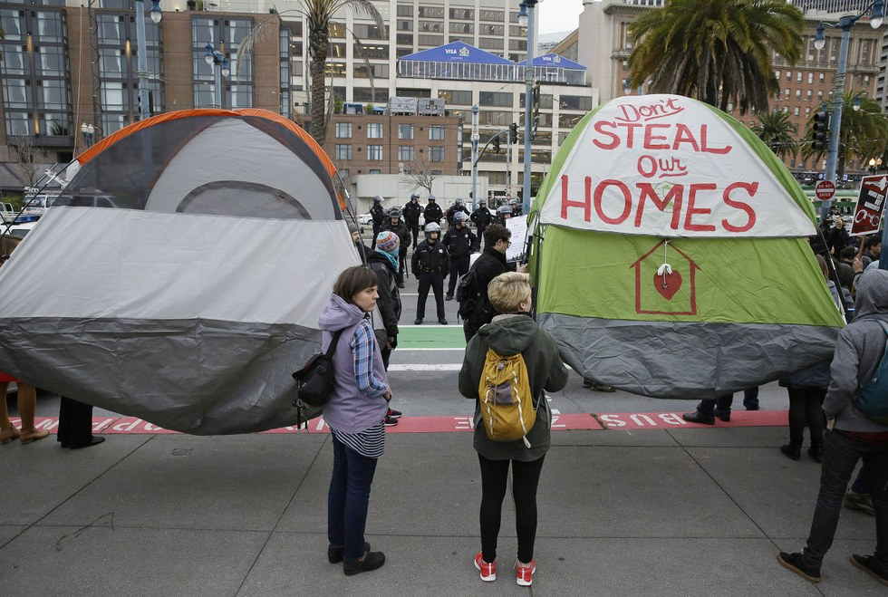 The Homeless And Super Bowl 50, February 2016