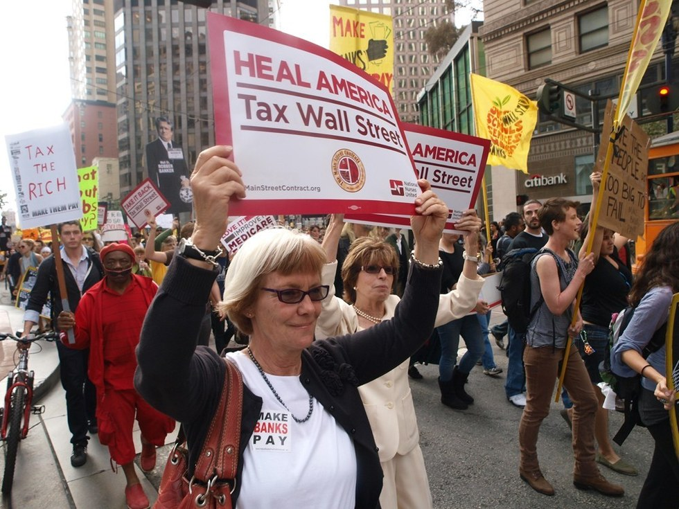 Occupy Wall Street, September 2011