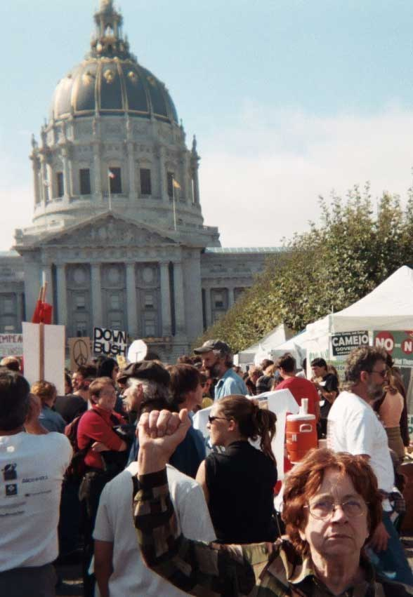 Iraq War Protest, February 2003