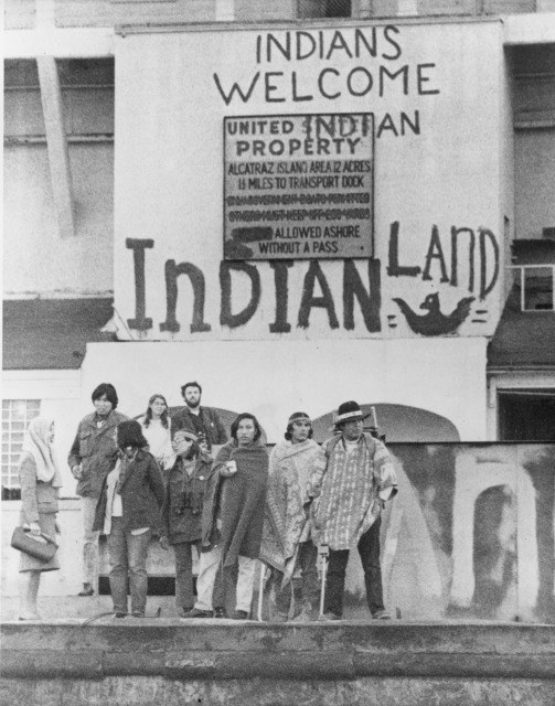 Native American Rights Demonstration, November 1969 to June 1971