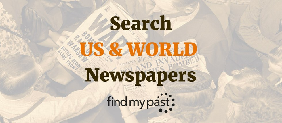 Search US & World Newspapers