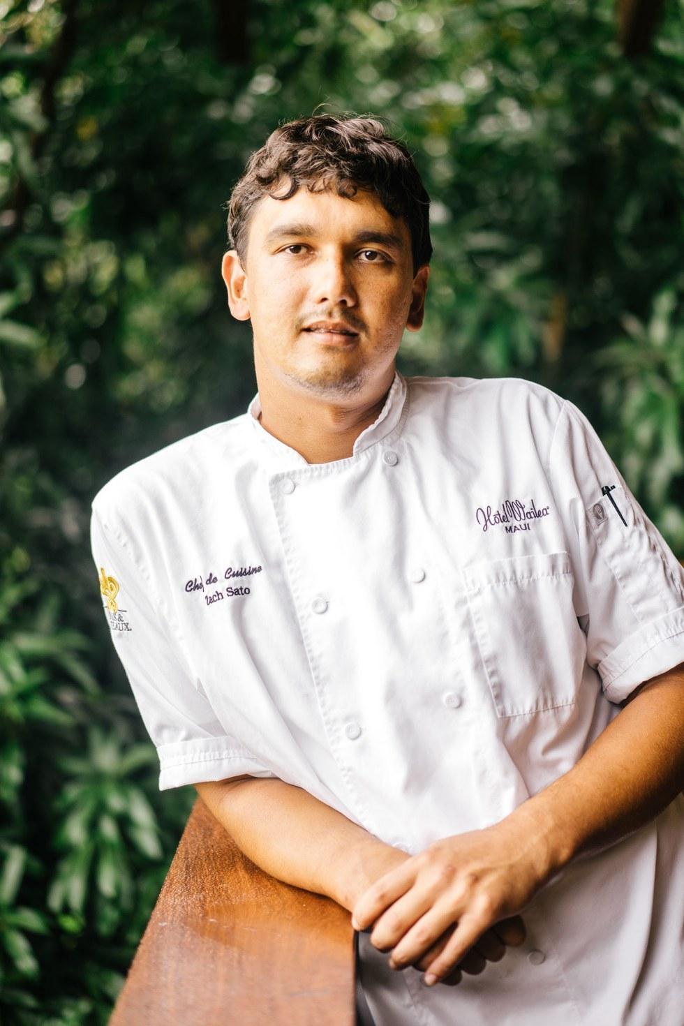 Zach Sato, Chef de Cuisine, The Restaurant at Hotel Wailea