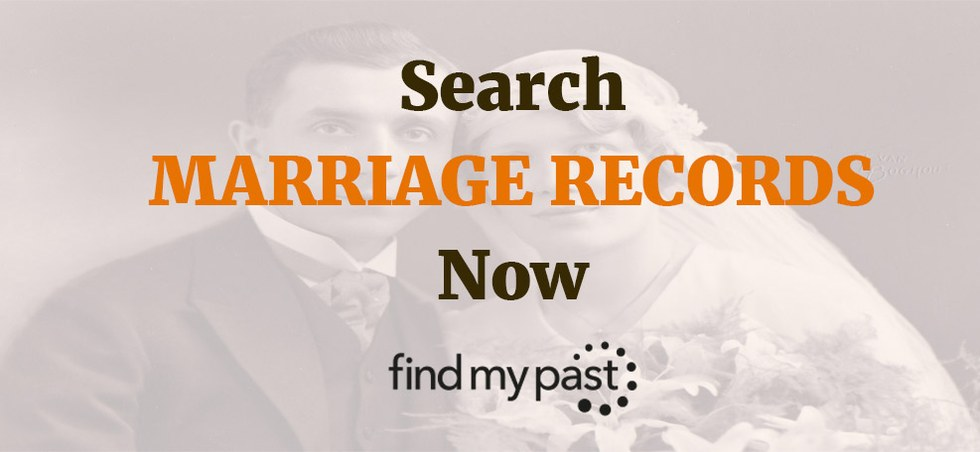 Search Marriage Records Now