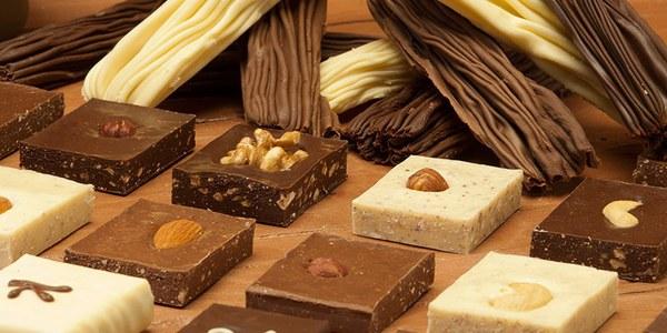 Chocolate en rama y bombones