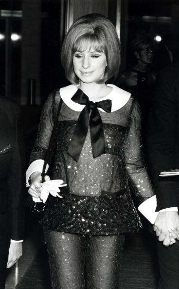 Barbra Streisand in Arnold Scaasi at the 41st Academy Awards (1969)