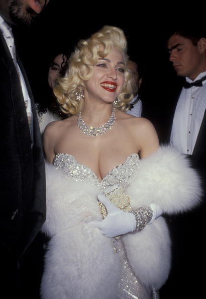 Madonna in Bob Mackie at the 63rd Academy Awards (1991)
