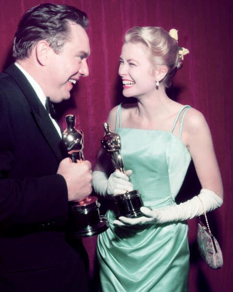 Grace Kelly in Edith Head at the 27th Academy Awards (1955)