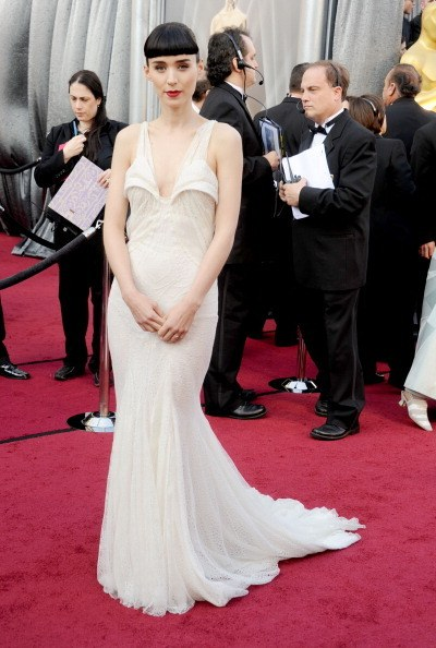 Rooney Mara in Givenchy at the 84th Academy Awards (2012)
