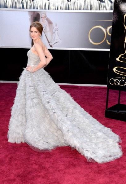 Amy Adams in Oscar de la Renta at the 85th Academy Awards (2013)