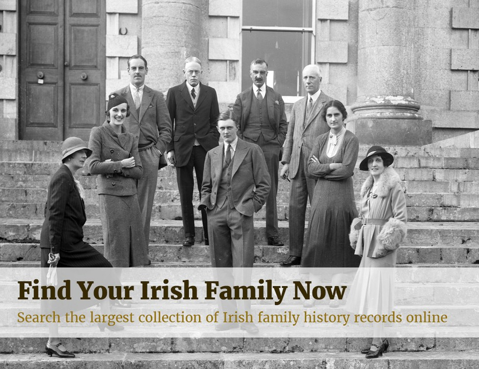 Find Your Irish Family Now