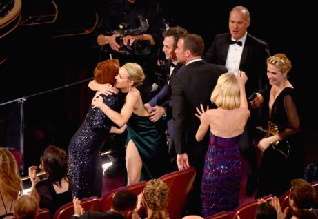 'Spotlight' wins Best Picture