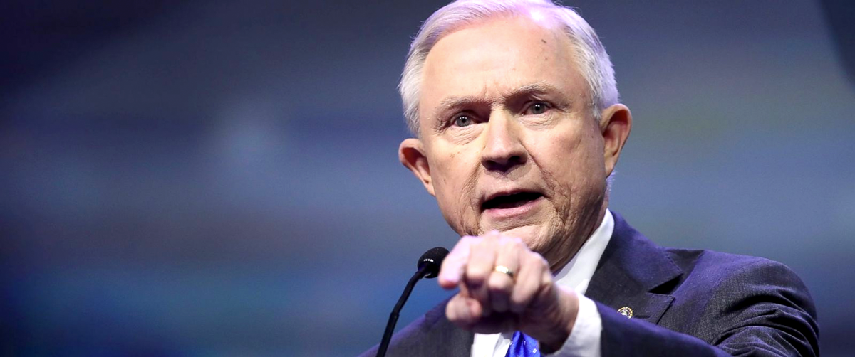 Jeff Sessions Is Doubling Down on His Crusade Against Marijuana Legalization