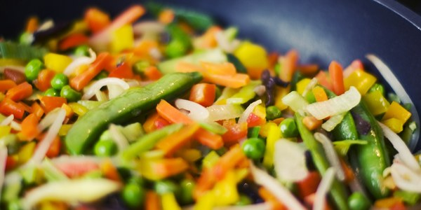 Eat your vegetables first (with a high-quality fat)