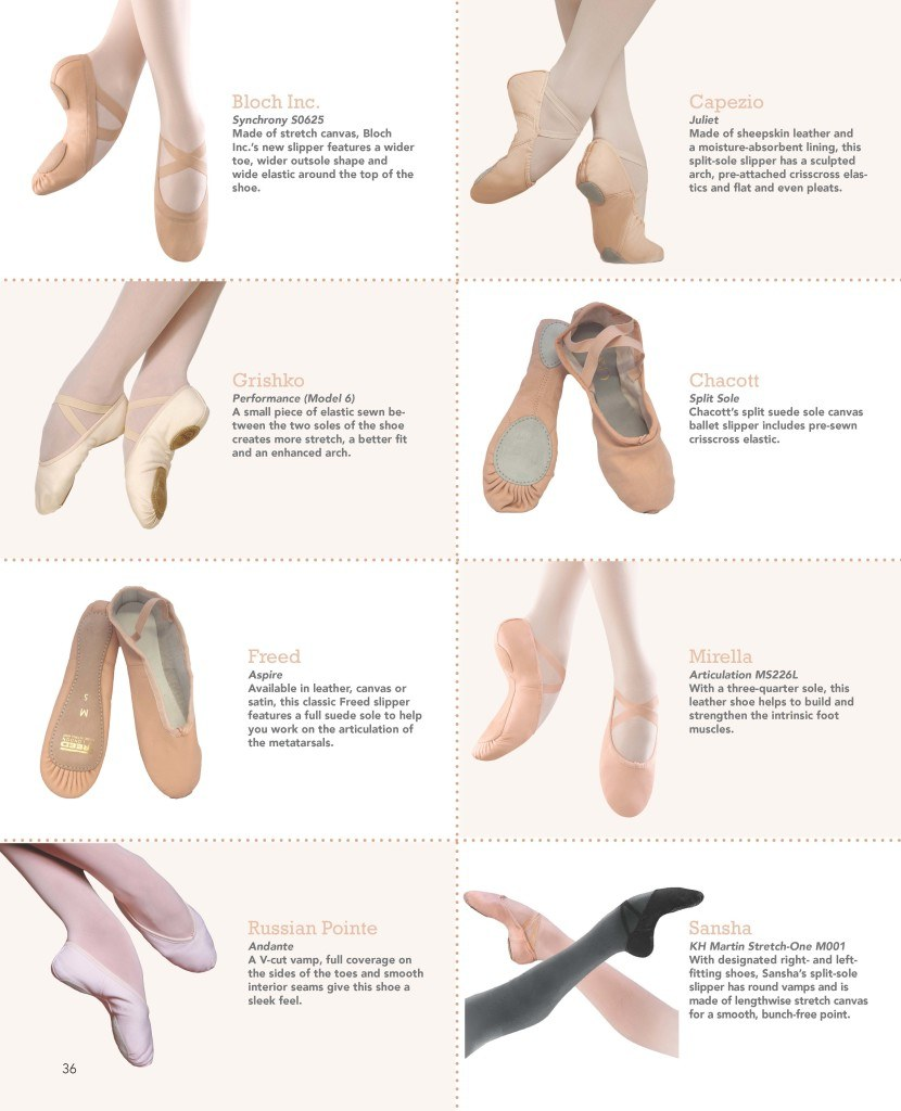A New Kind Of Ballet Point Shoe