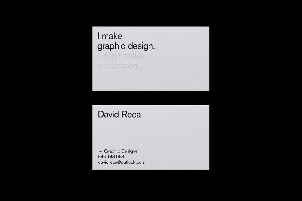 Tips on designing the right business card