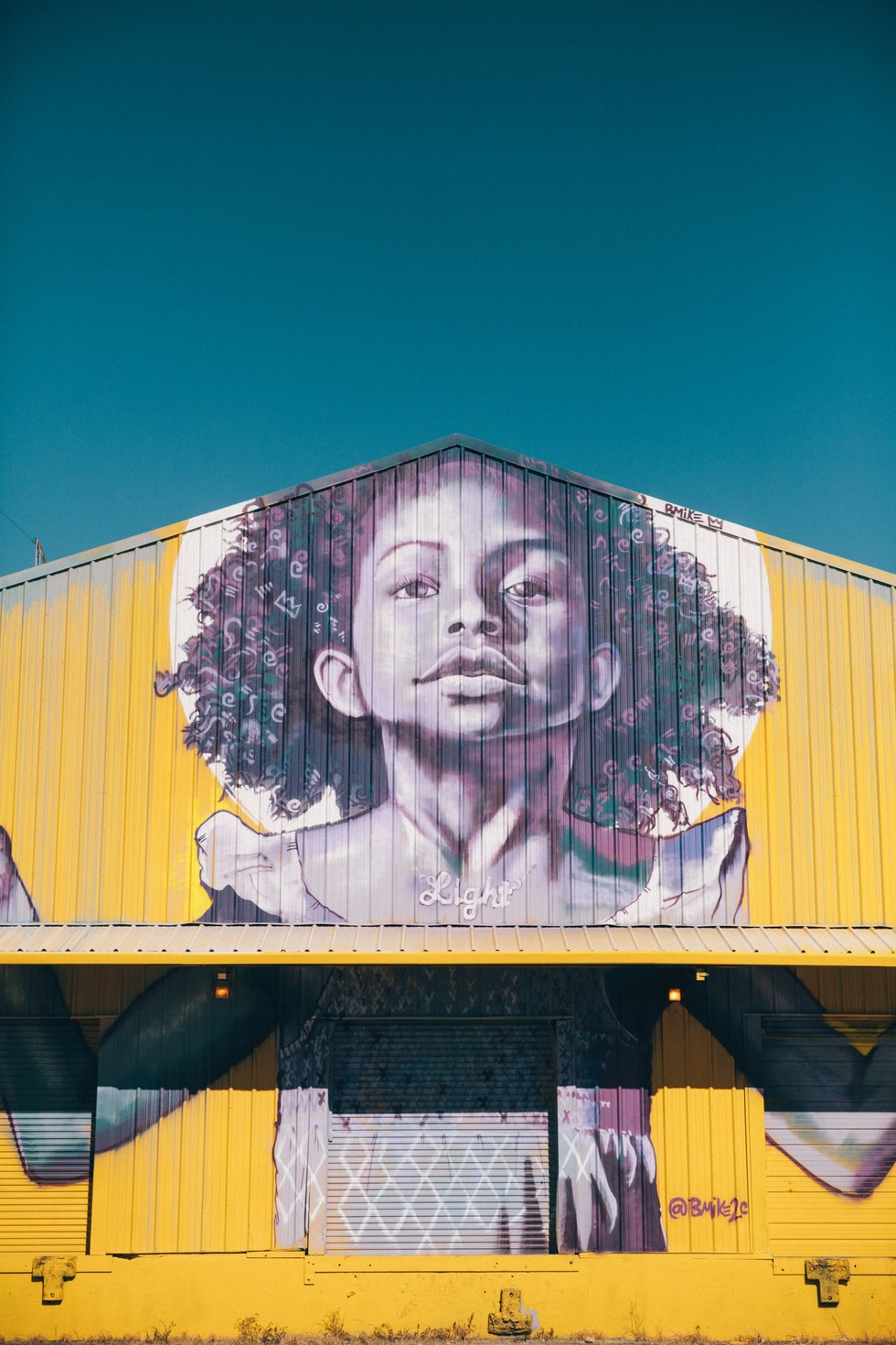 A Brandan Odums mural in the Bywater