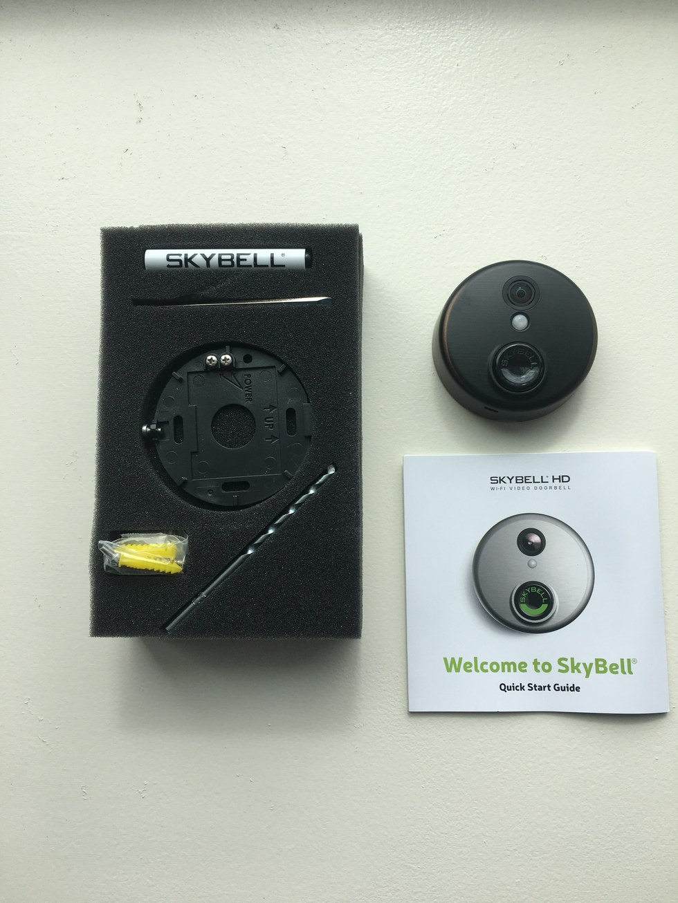 Hook up skybell