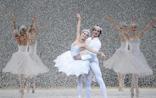 """Francois Illas New Tradition: Nutcracker """"Snow"""" Scene Answers"""