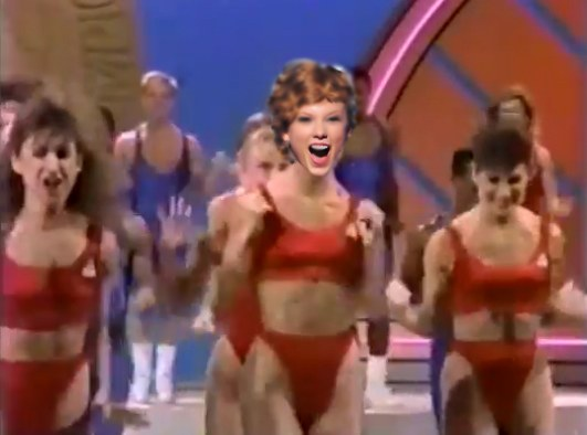 This 80s Aerobics Video Set To Shake It Off Is Almost Too Good