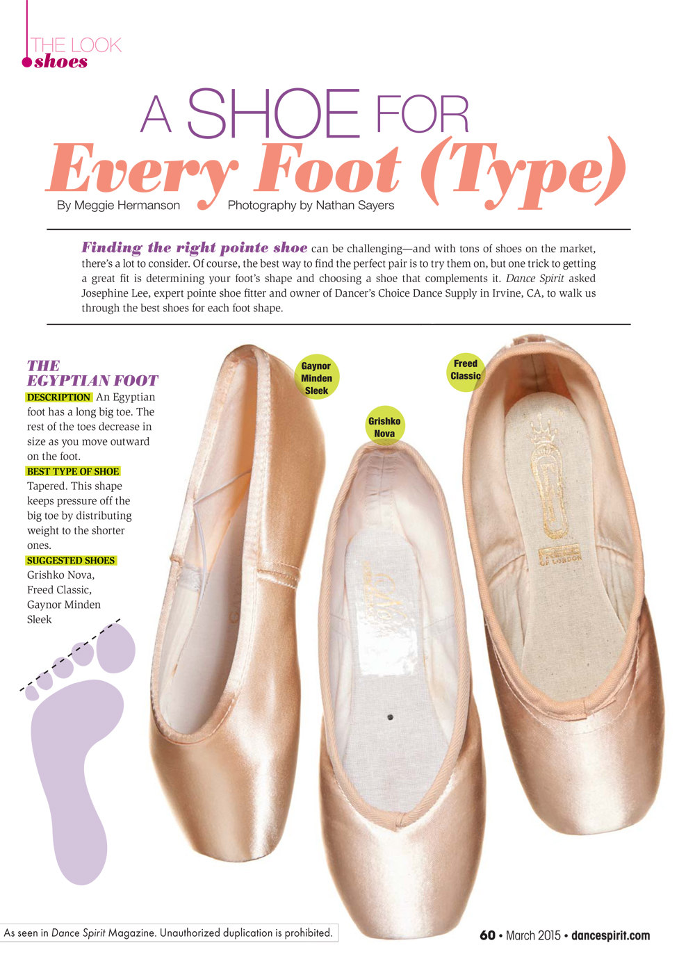 Groovy A Shoe For Every Foot Type Dance Spirit Largest Home Design Picture Inspirations Pitcheantrous