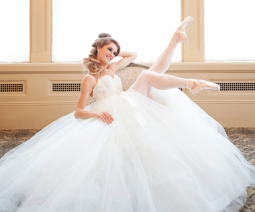"Ballerinas Take Over ""Say Yes to the Dress"""