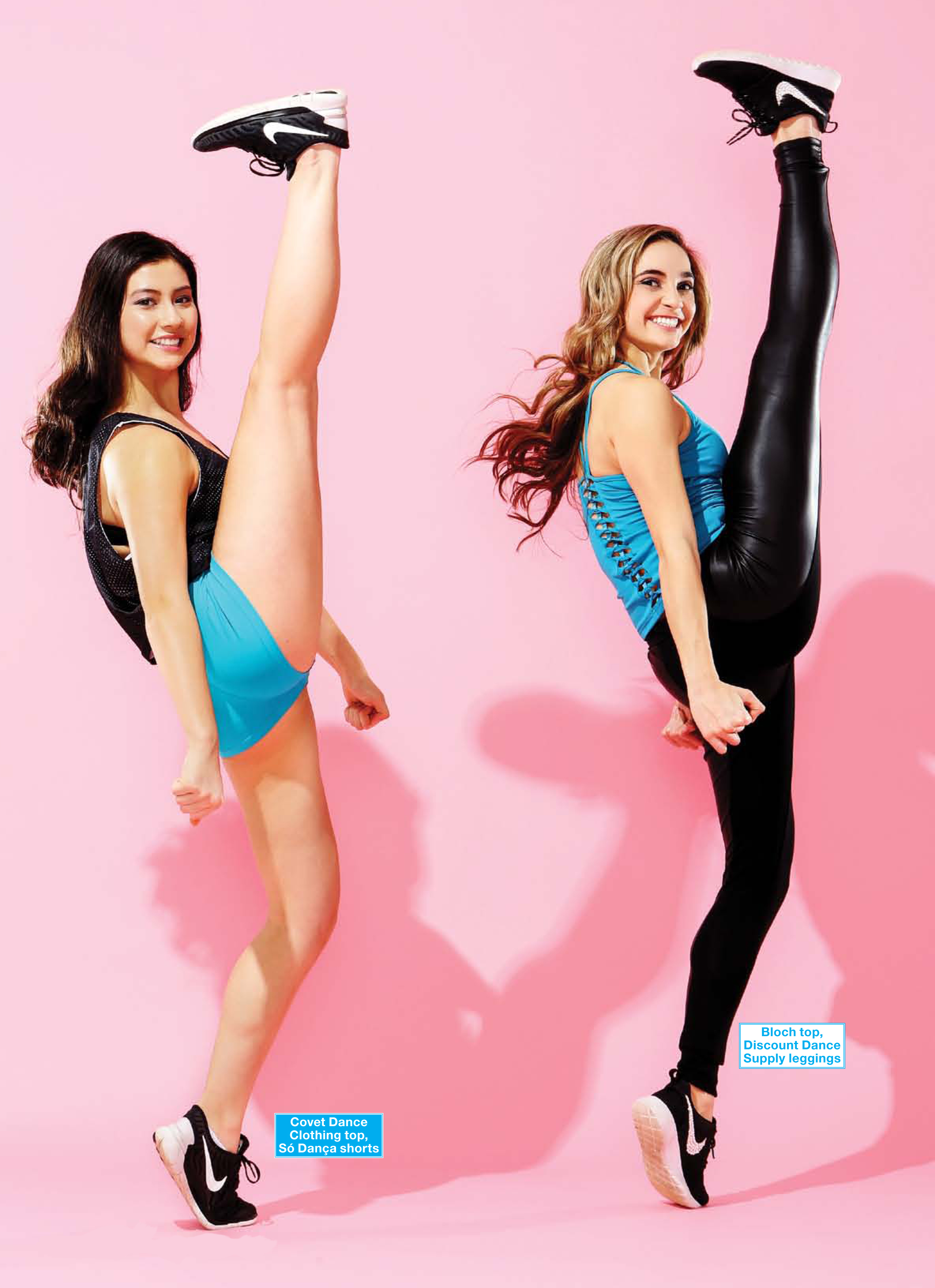 2c2d04f16 StyleSquared  Color-Coordinated Dance Team Fashion - Dance Spirit