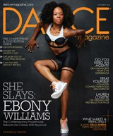Dance Magazine cover October 2016