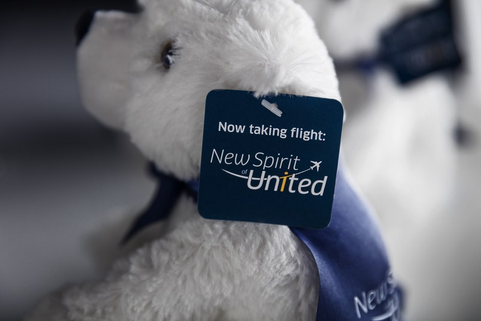 Ursa, the new name of the limited edition United Polaris bear