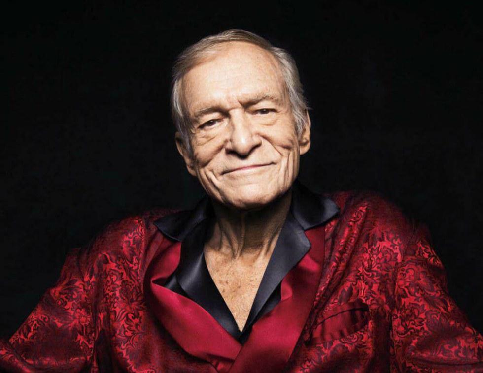 Сегодня умер основатель журнала Playboy
