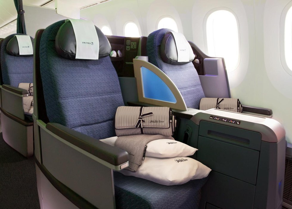 United Business class customers will now enjoy relaxing and sleep focused seating on all premium transcontinental flights