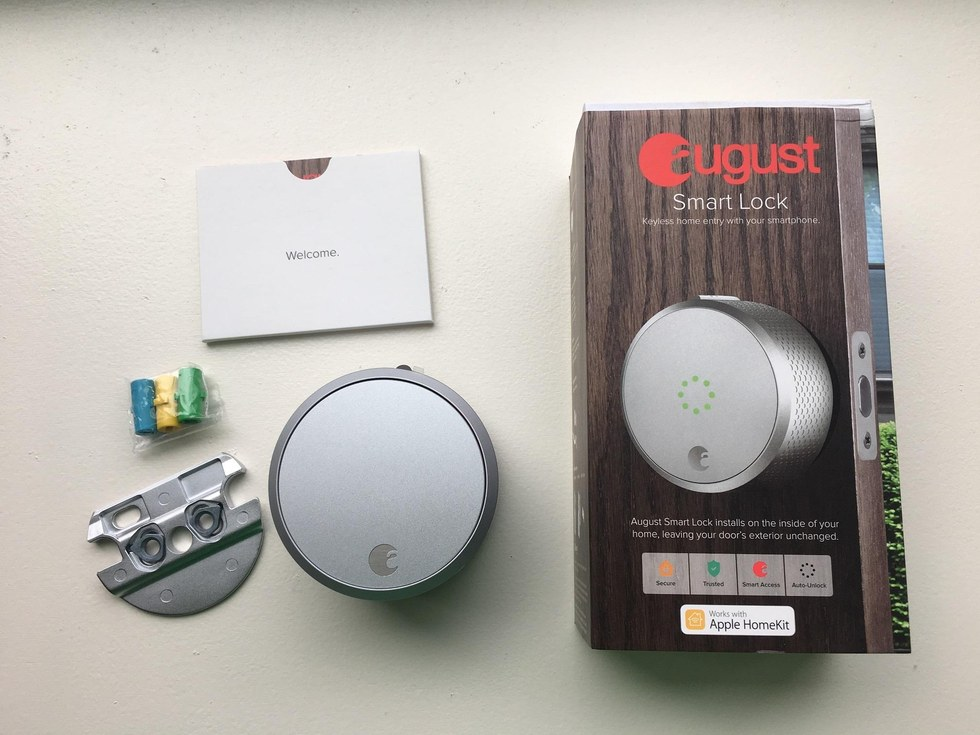 Other smart locks require you to replace the entire lock. August Smart Lock is very easy to install since you only have to do half of a lock installation. & Review August Smart Lock Easiest to Install in a smart home