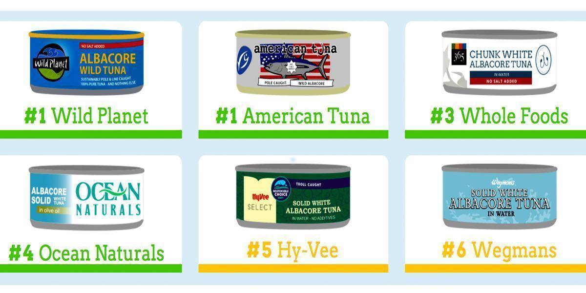 20 Canned Tuna Brands Ranked: How Sustainable Is Your Brand?