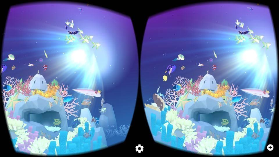 Review tap tap fish vr app lets you swim with the fishes for Fishing vr games