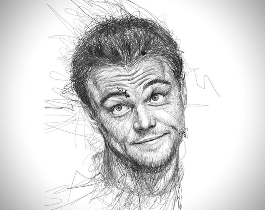 Continuous Line Drawing Face : Check out these amazingly realistic drawings of celebrities