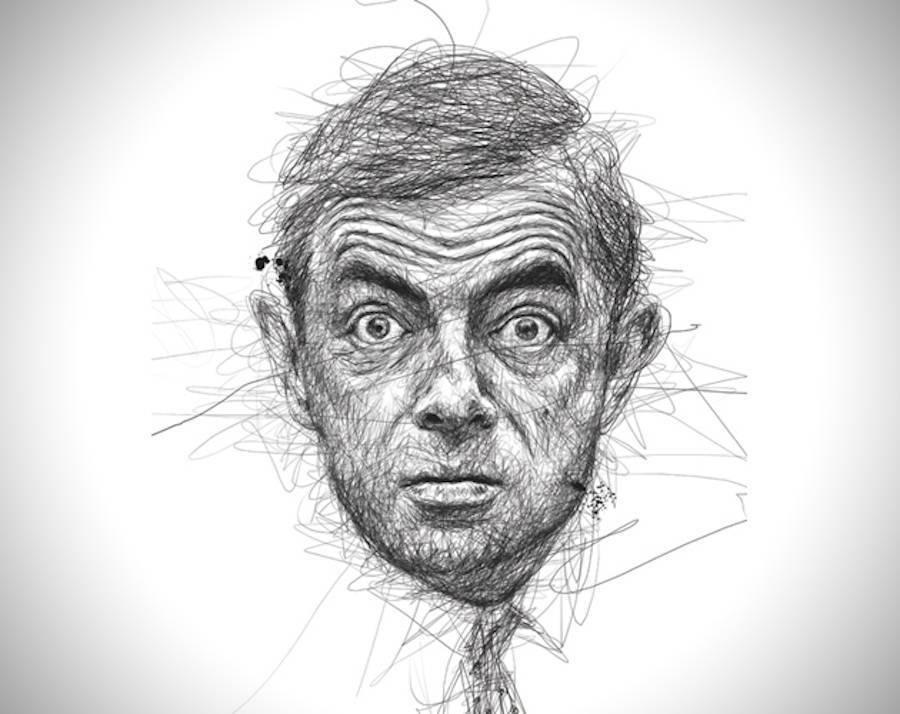 Drawing Lines Without Lifting Pen : Check out these amazingly realistic drawings of celebrities