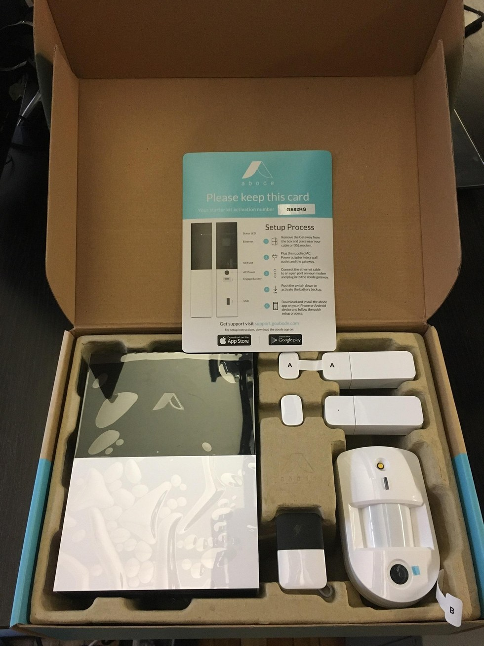 Review Abode Starter Kit Offers Flexible Diy Home Security
