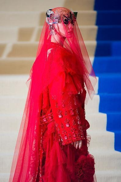 """Rei Kawakubo/Comme des Garcons: Art Of The In-Between"" Costume Institute Gala - Outside Arrivals"
