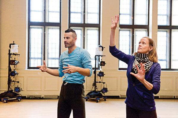 Developing a good eye dance teacher joel smith and liz casebolt worked with k12 educators during the harkness dance festival malvernweather Images