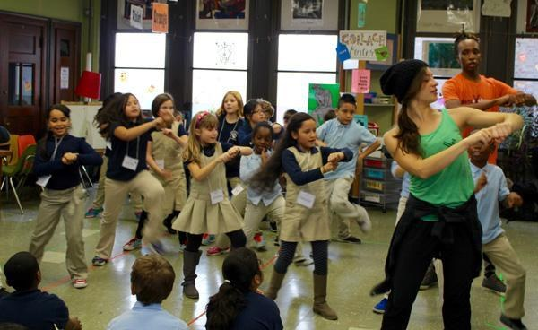 K 12 Balletx Takes Dance Into Philadelphia Grade Schools