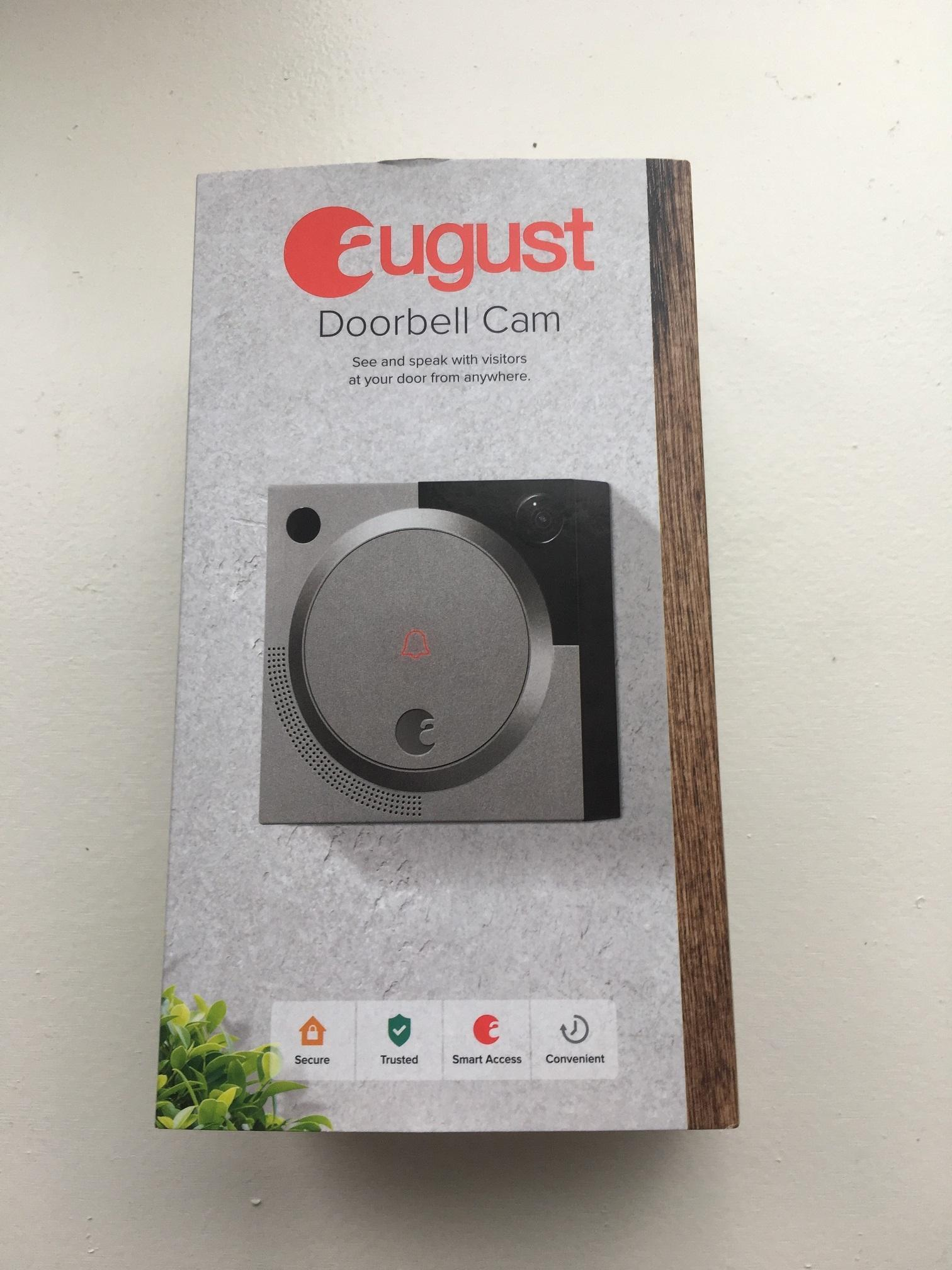 How to install August Doorbell Cam